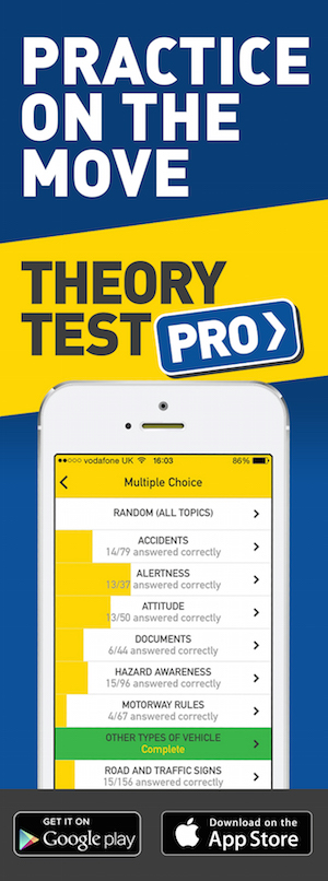 Theory Test Pro in partnership with Richard's School of Motoring Devon